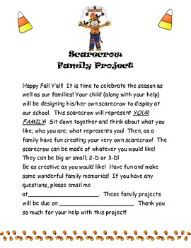 Scarecrow Family Project