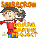 Scarecrow Activity- Genre Writing Project, aligned to 2nd, 3rd 4th grade CCSS