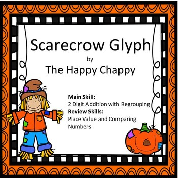 Scarecrow Glyph 2 Digit Addition with Regrouping