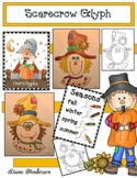 Scarecrow Activities: Listening & Following Directions Scarecrow Glyph