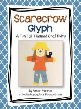 Scarecrow Glyph {A Fun Fall Craftivity}