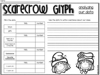 Scarecrow Glyph Craftivity
