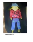 Scarecrow Glyph: Lesson Plan + Tracer Templates