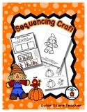 Scarecrow - Halloween - Positional Words - Sequencing Reader Mat & Craft Page