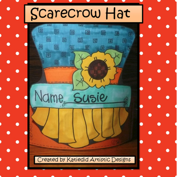 Fall Craft Hat, Scarecrow Hat Craft