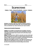 Scarecrows - History Facts Around The World Festivals - Lesson questions review