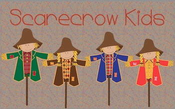 Scarecrow Kids {Freebie!}
