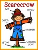 Scarecrow Labeling Posters & Differentiated Labeling Activ