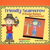 Scarecrow Math Craftivity: Multiplication and Division Num