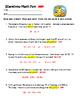 Scarecrow Math Word Problems