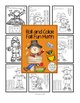 Fall Scarecrow Addition - Math Worksheets - Addition Strategies
