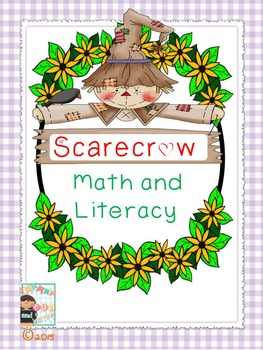 Scarecrow Math and Literacy Printables