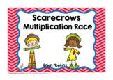 Scarecrow Multiplication Race