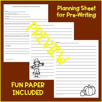 Scarecrow Narrative Writing Activity