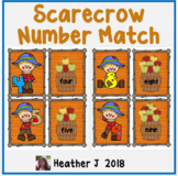 Scarecrow and Apple Number Match