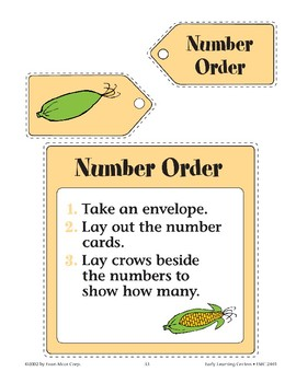 Scarecrow--Number Order