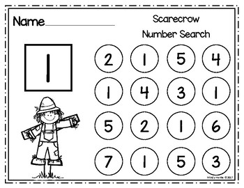 Scarecrow Number Search