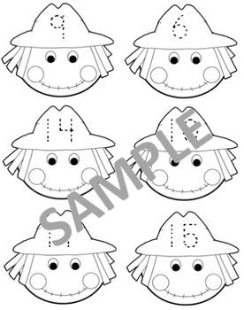 Scarecrow Number identification 0-16