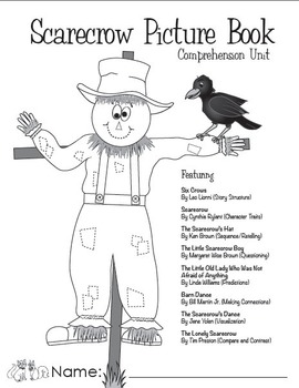 Scarecrow Picture Book Comprehension Unit In a Pringles Can