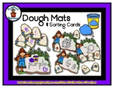 Scarecrow  -  Play Dough Manipulative Mats - Alphabet Numb