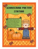 Scarecrow Poetry Station: A Common Core Activity