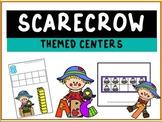 Scarecrow Preschool Themed Centers