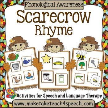 Scarecrow Rhyme Match