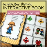 Fall Interactive Reader with Language Activities- Scarecro