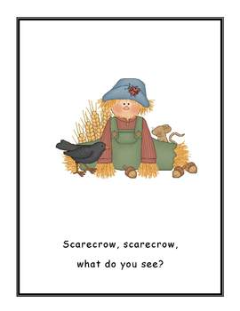 Scarecrow, Scarecrow Big Book for Fall