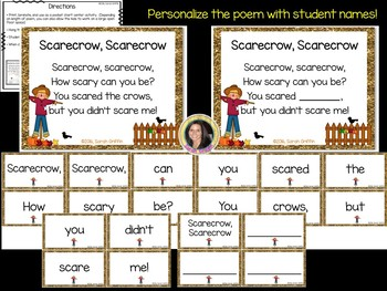 Build a Poem ~ Scarecrow, Scarecrow