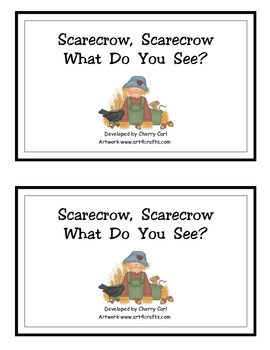 Scarecrow, Scarecrow, What Do You See?  Farm Reader