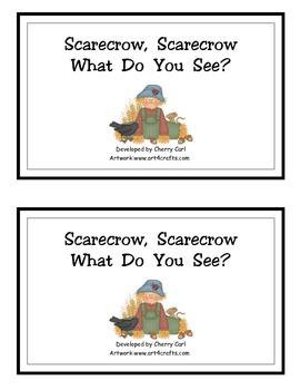 Scarecrow, Scarecrow, What Do You See?  Farm Reader