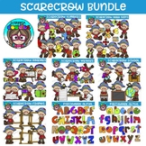 Scarecrow School Bundle - $31.00 Value {Scrappin Doodles Clipart}
