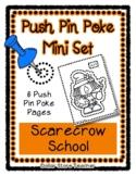 Scarecrow School - Push Pin Poke No Prep Printable - 6 Pic