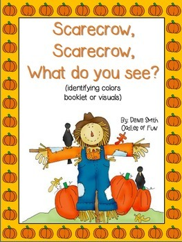 Scarecrow, Scrarecrow What Do You See? (booklet and visuals)