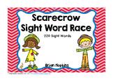 Scarecrow Sight Word Race