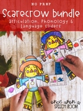 Scarecrow Sliders BUNDLE for Articulation, Phonology & Language