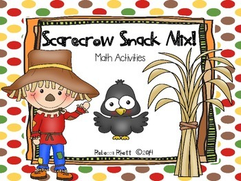 Scarecrow Snack Mix - Great Fall Math Activity!