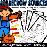 Table of Contents, Index, and Glossary (Fall themed)
