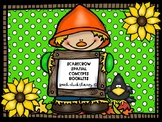 Scarecrow Spatial Concept Booklets for Speech Therapy