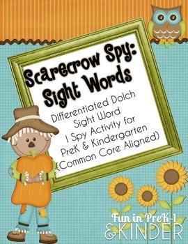 Scarecrow Spy: Sight Words (CC Aligned)