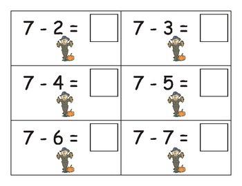 Scarecrow Subtraction: 0-10 eBook