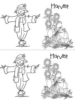Scarecrow Syllables Mini Book