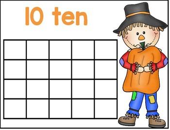 Scarecrow Ten Frames