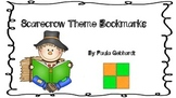 Scarecrow Theme Bookmarks