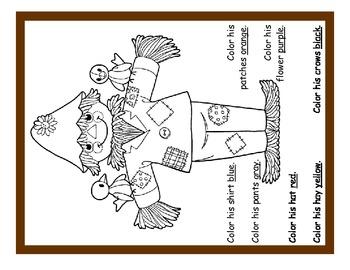 Scarecrow Unit for Primary Grades