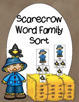 Scarecrow Word Family Sort