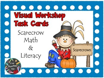 Scarecrow Workshop Visual Task Cards