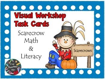 Scarecrow Workshop Visual Task Cards