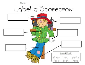 Scarecrow Writing Craft